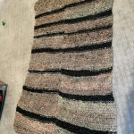 recycled rug made from recycled plastic bags
